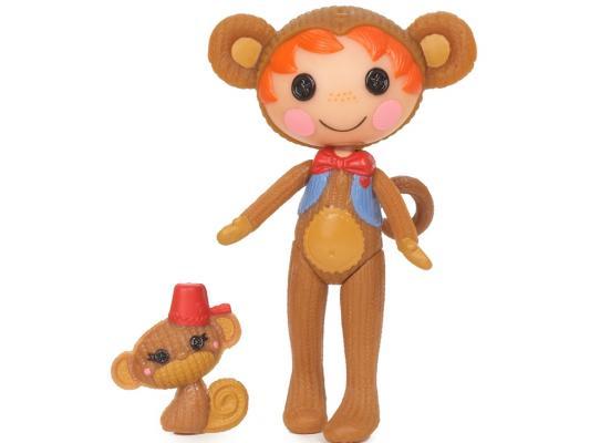 Кукла Lalaloopsy Mini обезьянка 7.5 см 514220  - купить со скидкой