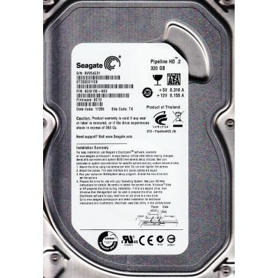"Жесткий диск 3.5"" 320Gb 5900rpm Seagate SATAIII ST3320311CS  Pipeline HD.2 (ST3320311CS)"