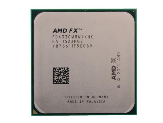 Процессор AMD X4 FX-4330 4.0ГГц 4Mb FD4330WMW4KHK Socket AM3+ OEM