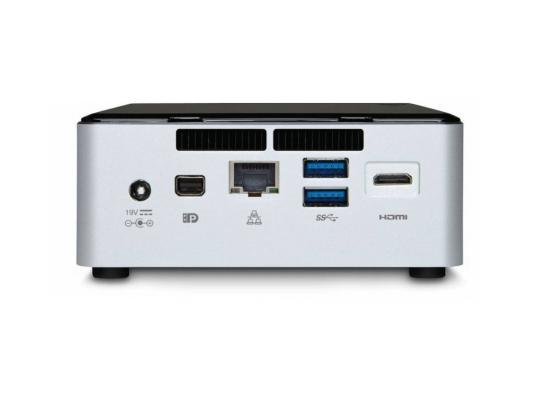 Неттоп-платформа Intel BOXNUC5I5RYH i5-5250U 1.6GHz 2xDDR3 SATA Intel HD 6000 Bluetooth Wi-Fi GbLAN 4xUSB 3.0 miniHDMI серебристо-черный BOXNUC5I5RYH 936891