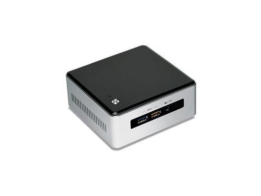 Неттоп-платформа Intel BOXNUC5I7RYH i7-5557U 3.1GHz 2xDDR3 SATA Intel HD 6100 Bluetooth Wi-Fi GbLAN 4xUSB 3.0 miniHDMI серебристо-черный BOXNUC5I7RYH 942066