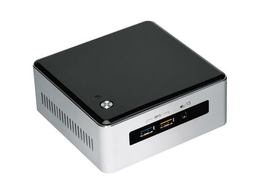 Неттоп-платформа Intel BOXNUC5I3RYH i3-5010U 2.1GHz 2xDDR3 SATA Intel HD 5500 Bluetooth Wi-Fi GbLAN 4xUSB 3.0 miniHDMI серебристо-черный BOXNUC5I3RYH 936895