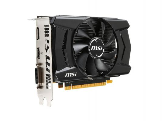 Видеокарта 2048Mb MSI R7 360 2GD5 OC  PCI-E D-Sub DVI HDMI DP HDCP Retail