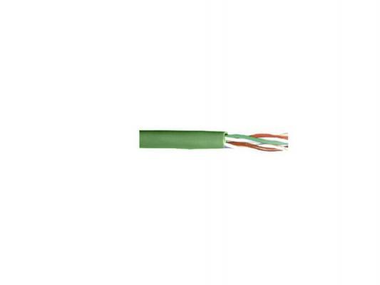Кабель ITK UTP кат.5e 4 пары 305м зеленый LC1-C5E04-122 розетка itk для rj45 utp кат 5е 1 выход белый cs2 1c5eu 12