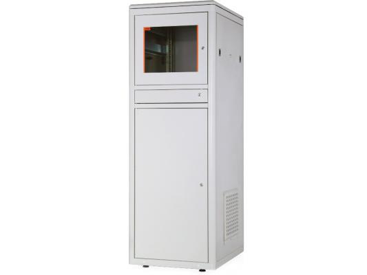 """Шкаф напольный 19"""" 20U Estap CKR20U68GF3R1 600x800mm передняя дверь одностворчатая сплошная металлическая задняя дверь одностворчатая"""