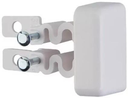 Заглушка Legrand для кабель-канала 40х12.5 белый 31204 заглушка legrand для кабель канала 40х12 5 белый 31204