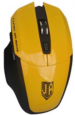 Мышь беспроводная Jet.A OM-U38G жёлтый USB