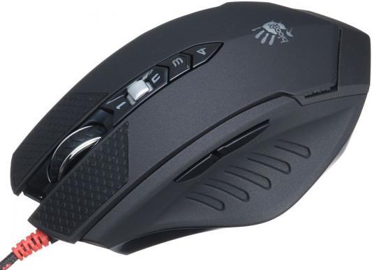 Мышь проводная A4TECH Bloody Terminator TL70 чёрный серый USB мышь a4tech bloody terminator tl9 black grey usb