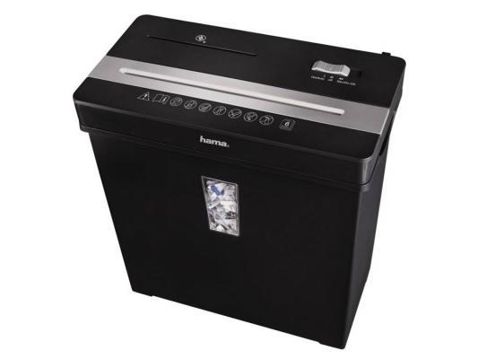 Уничтожитель бумаг Hama Basic Premium X8CD H-50188 8 лст 10лтр 2 Class