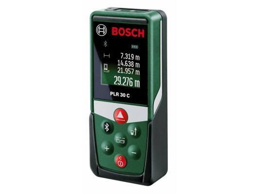Дальномер Bosch PLR 30 C 30 м 603672120 дальномер bosch plr 50 c 50 м 603672220