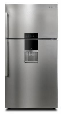 Холодильник DAEWOO FG-K56EFG серебристый холодильник daewoo fgk51efg двухкамерный серебристый