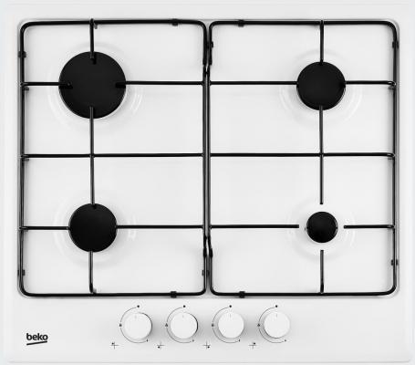Варочная панель газовая Beko HIMG 64223 W белый