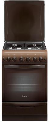 Газовая плита Gefest ПГ 5100-02 0001 коричневый газовая плита gefest 5100 02 0001