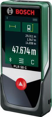 Дальномер Bosch PLR 50 C 50 м 603672220 лазерный дальномер bosch plr 50 c