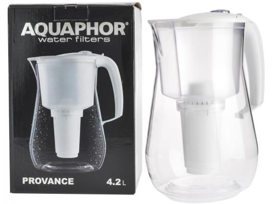 Фильтр для воды Аквафор Прованс A5 кувшин белый P140B05FM/P140A5FM