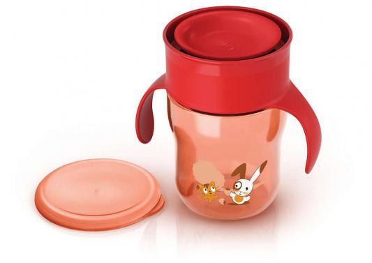Поильник Avent Поильник-чашка красный 260 мл с 12 месяцев SCF782/00 авент кружка поильник взрослая чашка голубая розовая от 12 мес 260мл арт 83442 scf782