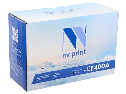 цена на Картридж NV-Print CE400A для P CLJ Color M551/M551n/M551dn/M551xh5 черный 5000стр