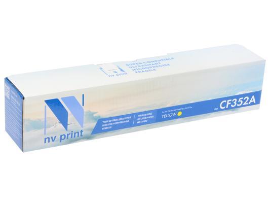 Картридж NV-Print CF352A для HP CLJ Pro MFP 153/M176/M177 желтый 1000стр картридж nv print hp ce403a magenta для clj color m551