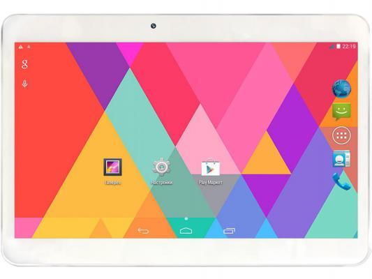 "Планшет Ginzzu GT-X831 8Gb 10.1"" 1024x600 MT8312 1.3GHz 1Gb 3G Wi-Fi BT Android белый + чехол"