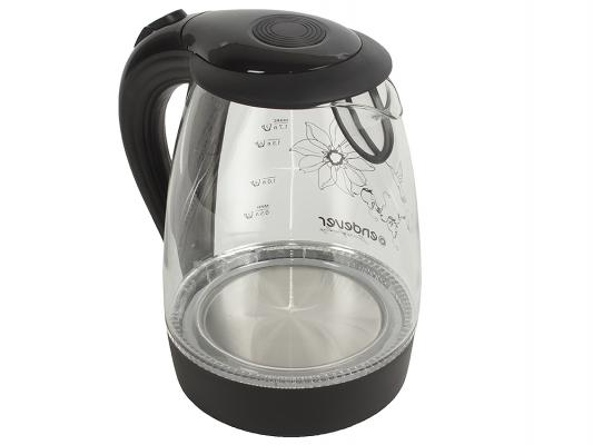 Чайник ENDEVER KR-307G 2200 Вт 1.7 л стекло чёрный