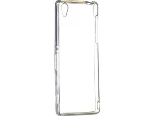 Чехол силикон iBox Crystal для Sony Xperia Z3+ (прозрачный)