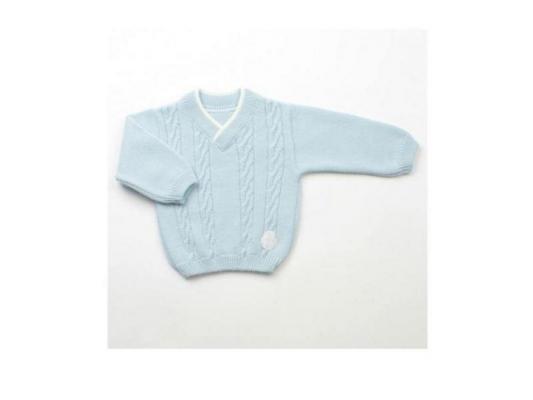 Джемпер Jacot шерсть, цвет голубой ВВ00608 рост 62 размер 18