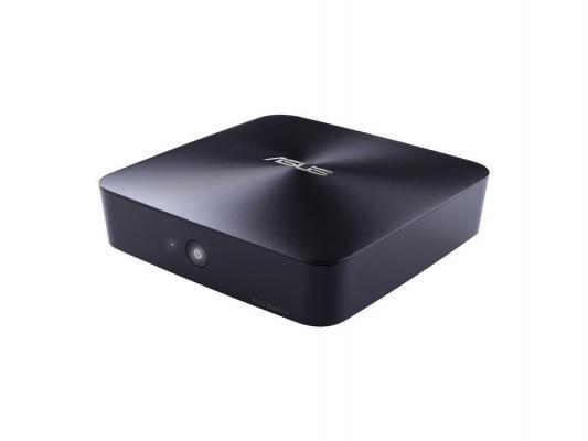 Неттоп Asus VivoPC UN62-M003M i3-4030U 1.9GHz Wi-Fi BT DOS черный 90MS00A1-M00030