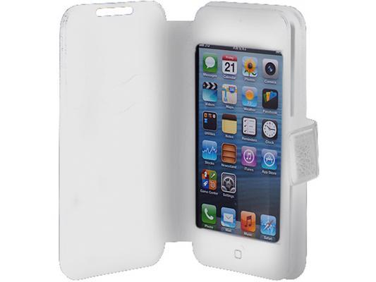 Чехол универсальный iBox SLIDER Universal слайдер для телефонов 3,5-4,2 белый чехол универсальный ibox universal для телефонов 4 2 5 дюйма голубой