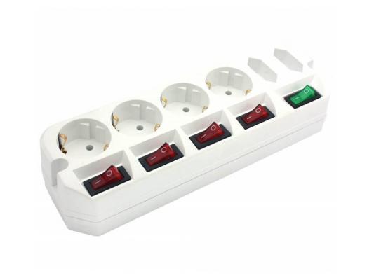 Удлинитель MOST Active A10-Box белый 6 розеток 1.6 м