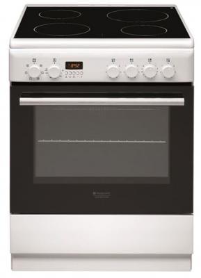 Электрическая плита Hotpoint-Ariston H6V5D60 (W) белый