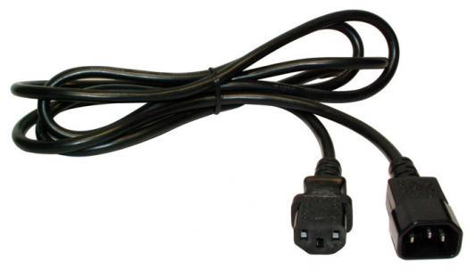 Шнур питания Lanmaster LAN-PPM-10A-2.0 C14-C13 3х0.75 220В 10А 2м