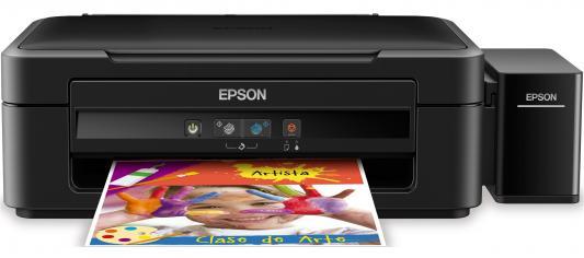 МФУ Epson Stylus L222 цветной A4 27/15ppm 5760x1440dpi USB C11CE56403