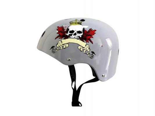 Шлем VEGAS M grey vegas душевая дверь vegas ep 75 профиль матовый хром стекло фибоначчи