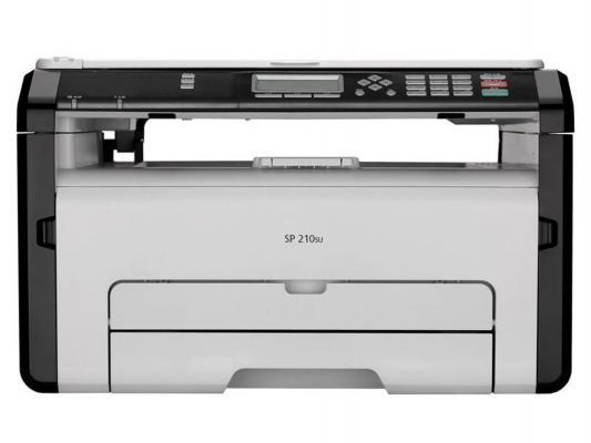 МФУ Ricoh SP 210SU монохромный A4 1200x600dpi 22ppm USB 407676/407661