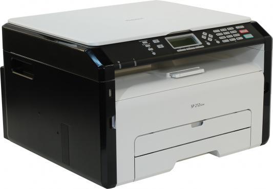 МФУ Ricoh SP 212SUw монохромный A4 1200x600dpi 22ppm USB Wi-Fi 407694