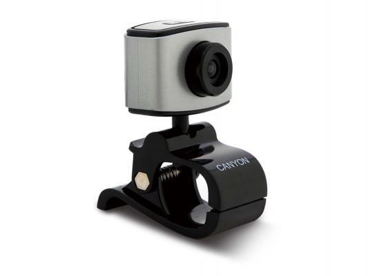 Веб-Камера Canyon CNE-CWC2 черный-серебристый