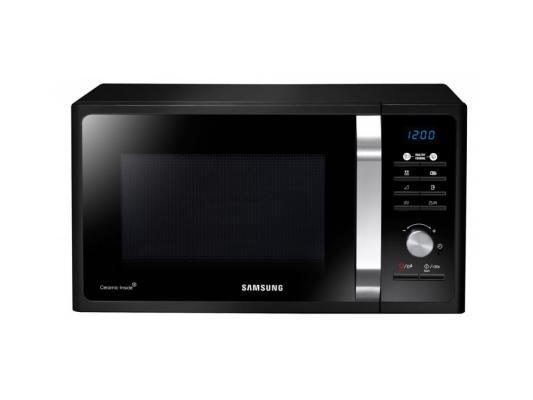 СВЧ Samsung MG23F302TAK 800 Вт чёрный свч samsung ms23k3515ak 800 вт чёрный