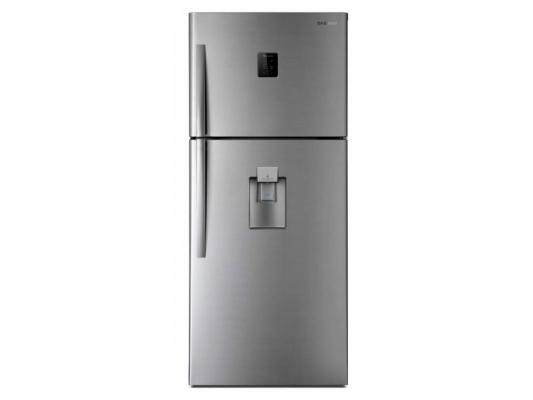 Холодильник DAEWOO FGK-51EFG серебристый холодильник daewoo fgk 51wfg