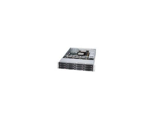 "Серверная платформа Supermicro SSG-6028R-E1CR12H 2U 2xLGA2011 C612 16xDDR4 12x3.5"" SAS/SATA 2xGigabit Ethernet 920Вт"