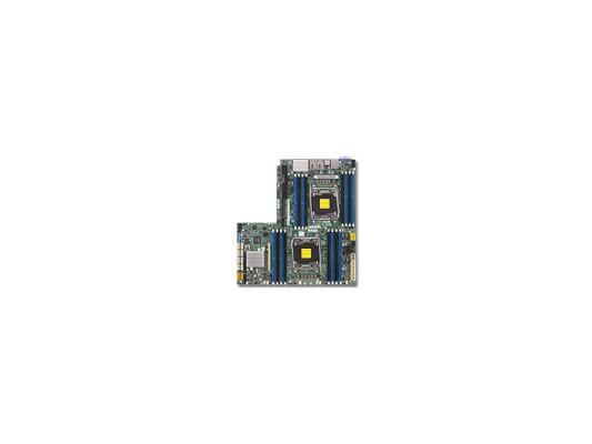Мат. плата для ПК Supermicro MBD-X10DRW-I-O 2 х Socket 2011-3 C612 16xDDR4 1xPCI-E 16x 10xSATAIII Нестандартный Retail