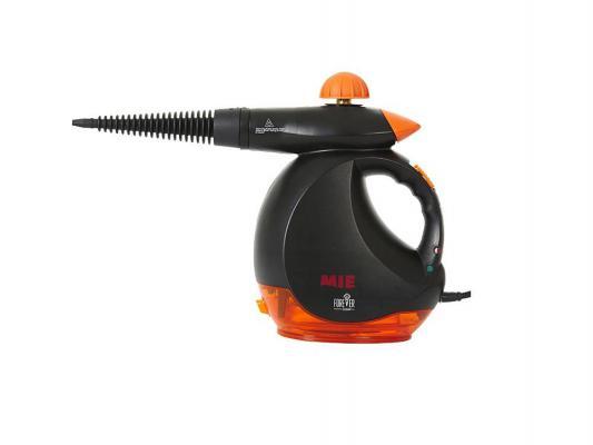 Пароочиститель MIE Forever Clean 1200Вт 0.48л черно-оранжевый 0380725 пароочиститель philips fc7008 01 1200вт 20г мин