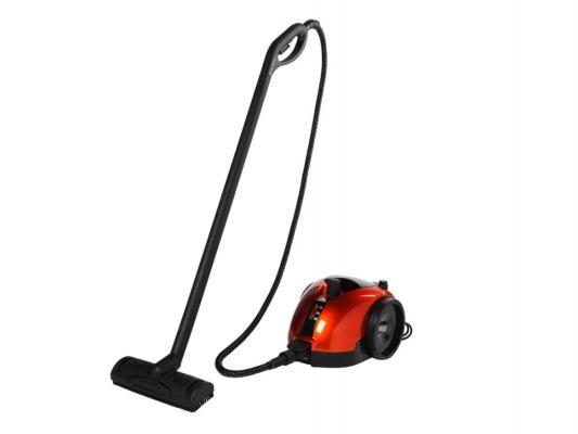 Пароочиститель MIE Bello (380544) 1700Вт чёрный оранжевый