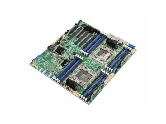 Материнская плата для ПК Intel DBS2600CW2 2 х Socket 2011-3 C612 16xDDR4 4xPCI-E 16x 1xPCI-E 4x 1xPCI-E 8x 10xSATAIII EATX Retail