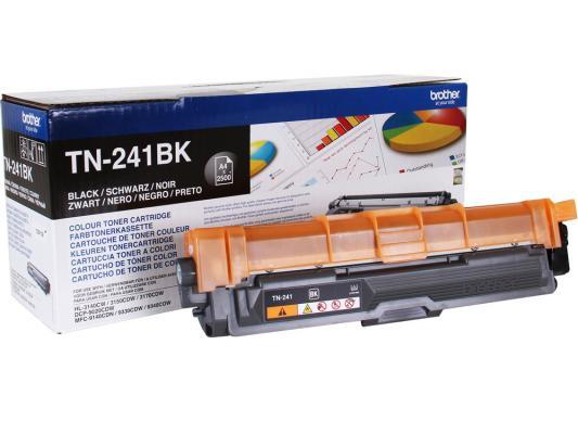 Картридж Brother TN-241BK для MFC- 9330CDW/HL-3140CW/HL/3170CDW/DCP-9020CDW черный 2500стр картридж brother tn 241bk