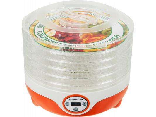 Сушка для овощей и фруктов Polaris PFD 0605D 300Вт оранжевый