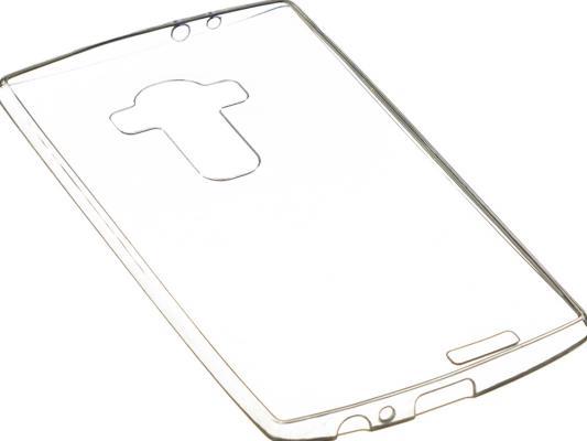 Чехол силикон iBox Crystal для LG G4 Stylus (прозрачный) чехол накладка для lg g4 stylus ibox crystal клип кейс прозрачный силикон
