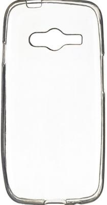 Чехол силикон iBox Crystal для Samsung G313 Galaxy Ace 4 (прозрачный) чехол для samsung galaxy a7 2016 sm a710f ibox crystal силикон прозрачный