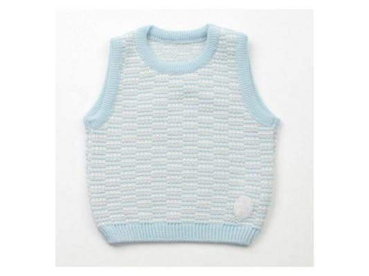 Жилет Jacot шерсть, цвет голубой ВВ01908 рост 62 детское автомобильное кресло siger кокон isofix крес0119