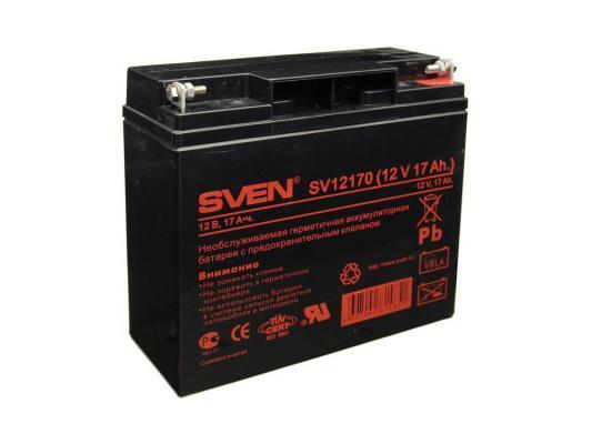Батарея Sven SV-0222017 12B/17A (SV-12170) цена и фото