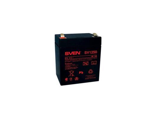 Батарея Sven SV-0222005/SV-1250 12B/5A стабилизатор sven avr slim 1000 lcd sv 012816